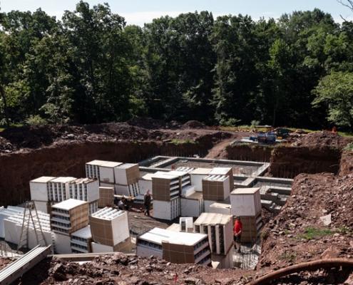 Foundation of New Jersey Net Zero Home