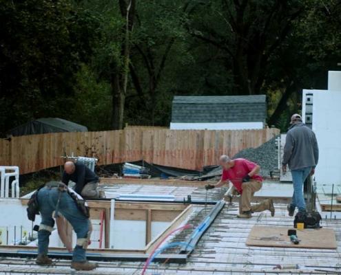 Net Zero Home Project First Floor