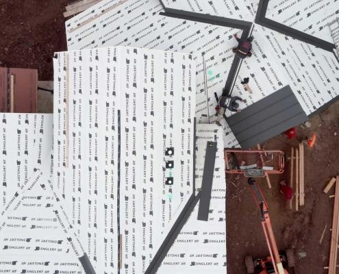 Englert Metal Roof Installation