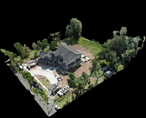 Drone inspection Net Zero Home